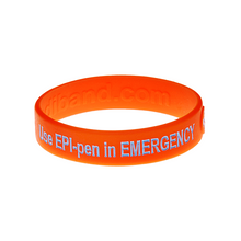 Load image into Gallery viewer, Use Epi Pen Allergy Wristband