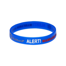 Load image into Gallery viewer, Warfarin Alert Wristband