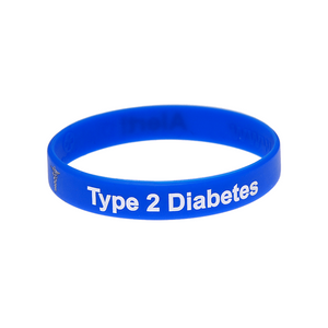 Diabetes Type 2 Wristband
