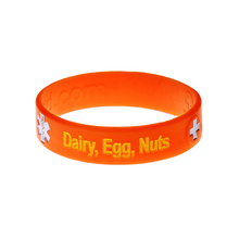 Load image into Gallery viewer, Dairy, Egg & Nut Allergy Wristband