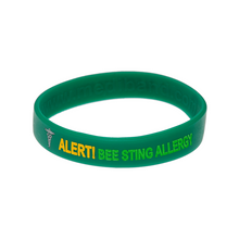 Load image into Gallery viewer, Bee Sting Allergy Wristband