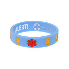 Load image into Gallery viewer, Designer Kids Anaphylaxis Wristband