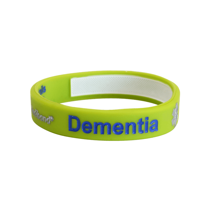 Dementia Alert Write On Wristband