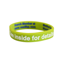Load image into Gallery viewer, Dementia Alert Write On Wristband