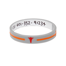 Load image into Gallery viewer, Silver Cross - Reversible Write On Wristband