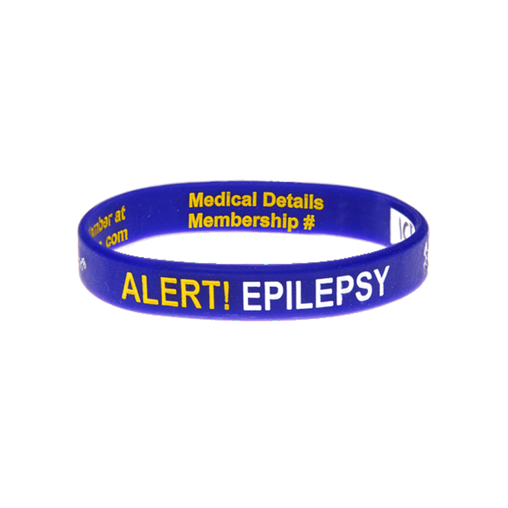 Epilepsy Alert - Reversible Write On Wristband