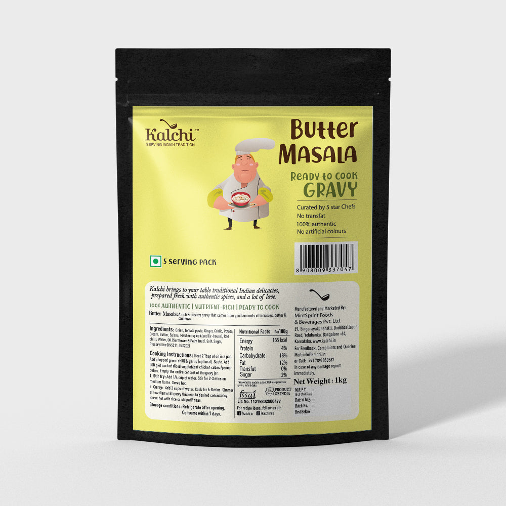 Butter Masala Gravy (900 gm)