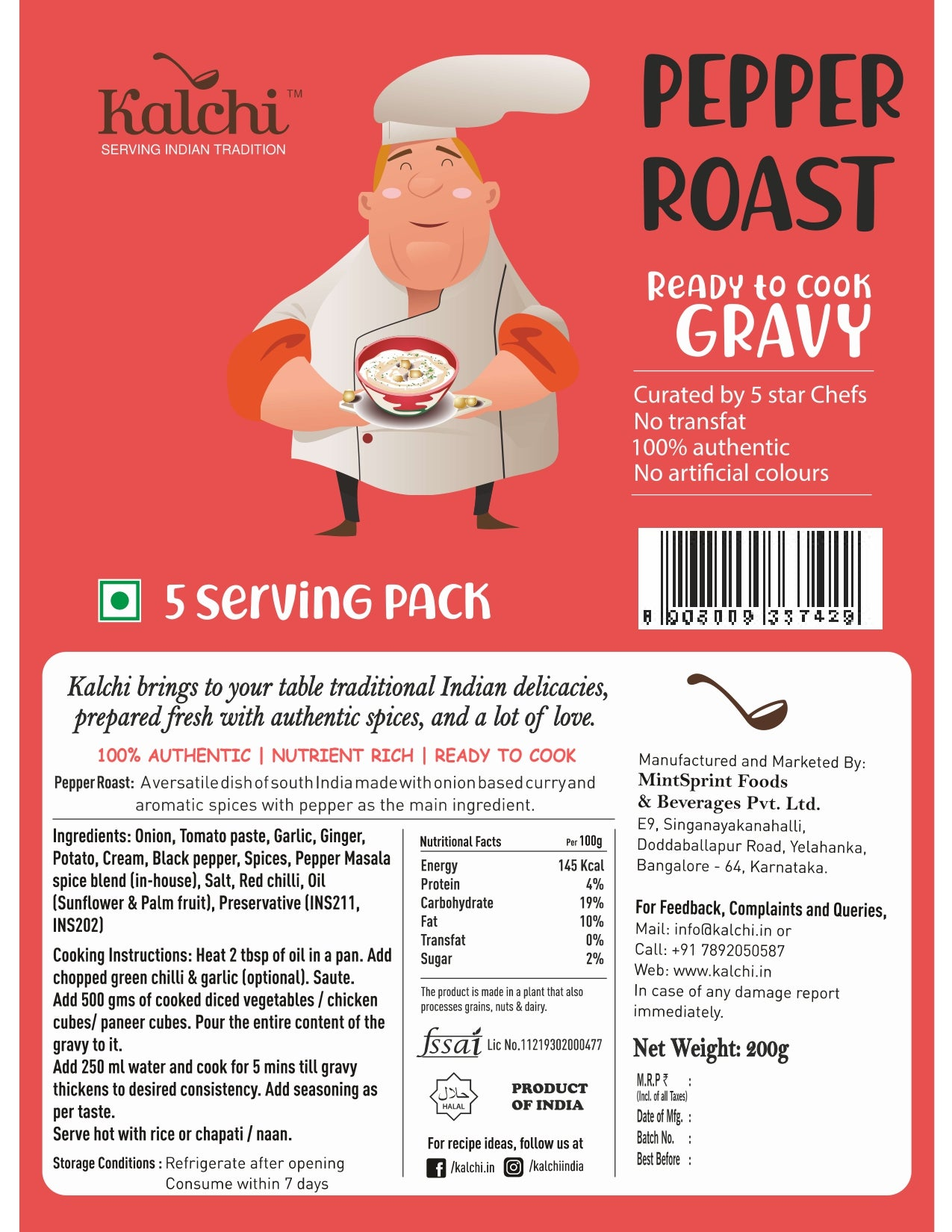 Pepper Roast Gravy
