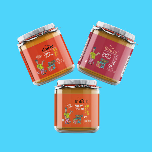 Three On A Spree - All Non-Veg Curry Spreads | Value Pack of 3