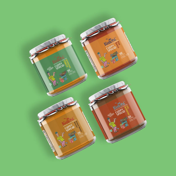 Fantastic Four - All Veg/ Paneer Curry Spreads | Value Pack of 4