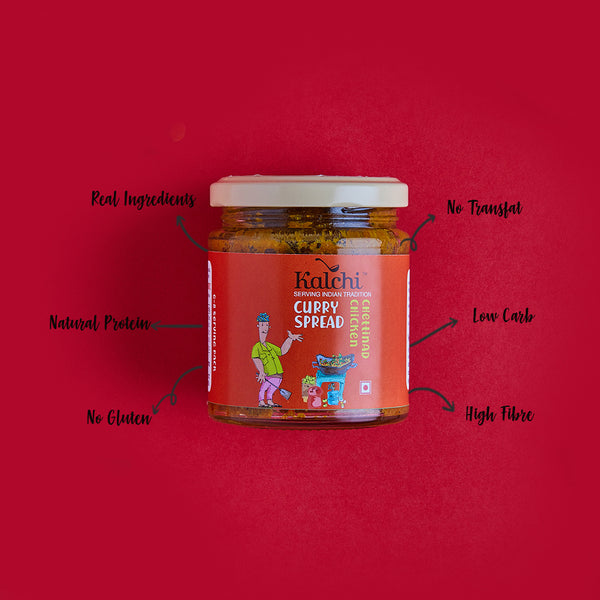 Chettinad Chicken Curry Spread