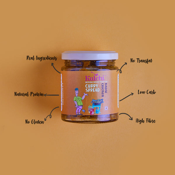 Kadai Chicken Curry Spread