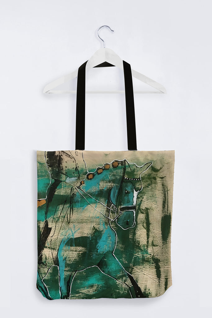 """Rooted Lightness"" Tote Bag - Shanah Equestrian"