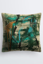 """Rooted Lightness"" Cushion - Shanah Equestrian"