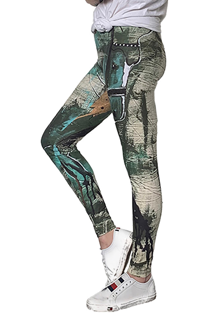 """Rooted Lightness"" Leggings - Shanah Equestrian"
