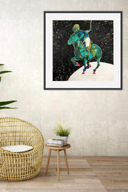 Polo-Lune Limited Edition Art Print