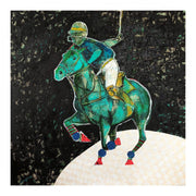 """Polo-Lune"" Limited Edition Print - Original Available Upon Request - Shanah Equestrian"