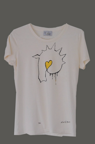 Graffiti Limited Edition Hand-Painted Tee