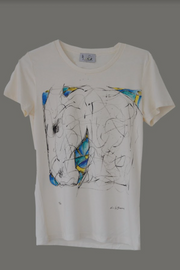 Labyrinth Limited Edition Hand-Painted Tee