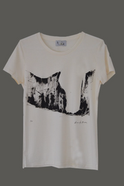 Abstract Limited Edition Hand-Painted Tee