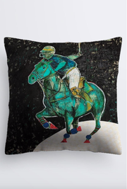 """Polo-Lune"" Cushion - Shanah Equestrian"