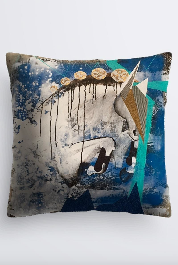 """It's All Coming"" Cushion - Shanah Equestrian"