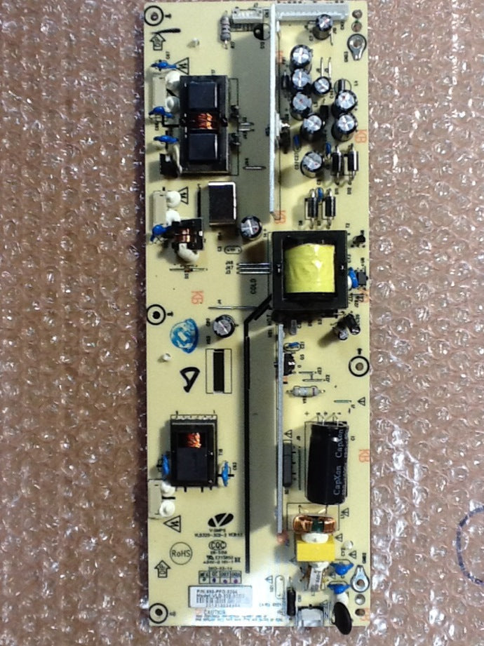 890-PFO-3204 POWER SUPPLY-BACKLIGHT INVERTER FOR AN ELEMENT TV (ELCFW329 )