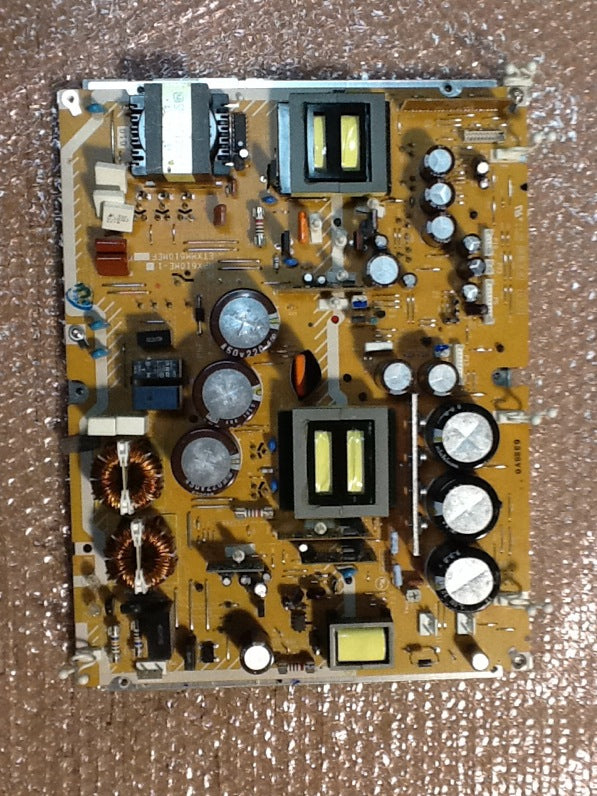 ETXMM610MEF POWER BOARD FOR A PANASONIC TV (TH-50PX60U MORE) BADCAPS