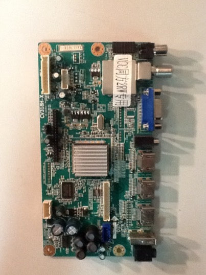 2AH1761A MAIN BOARD FOR A WESTINGHOUSE TV (CW40T2RW)