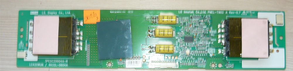 6632L-0604A Backlight Inverter Board for a Sanyo TV (DP42841 and more)