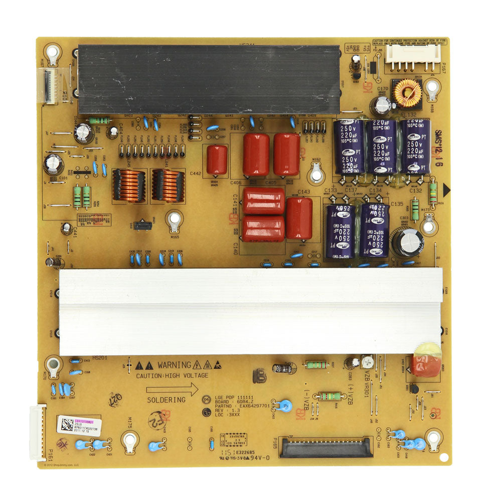 EBR73733601 Z Sustain Power Board for an LG TV