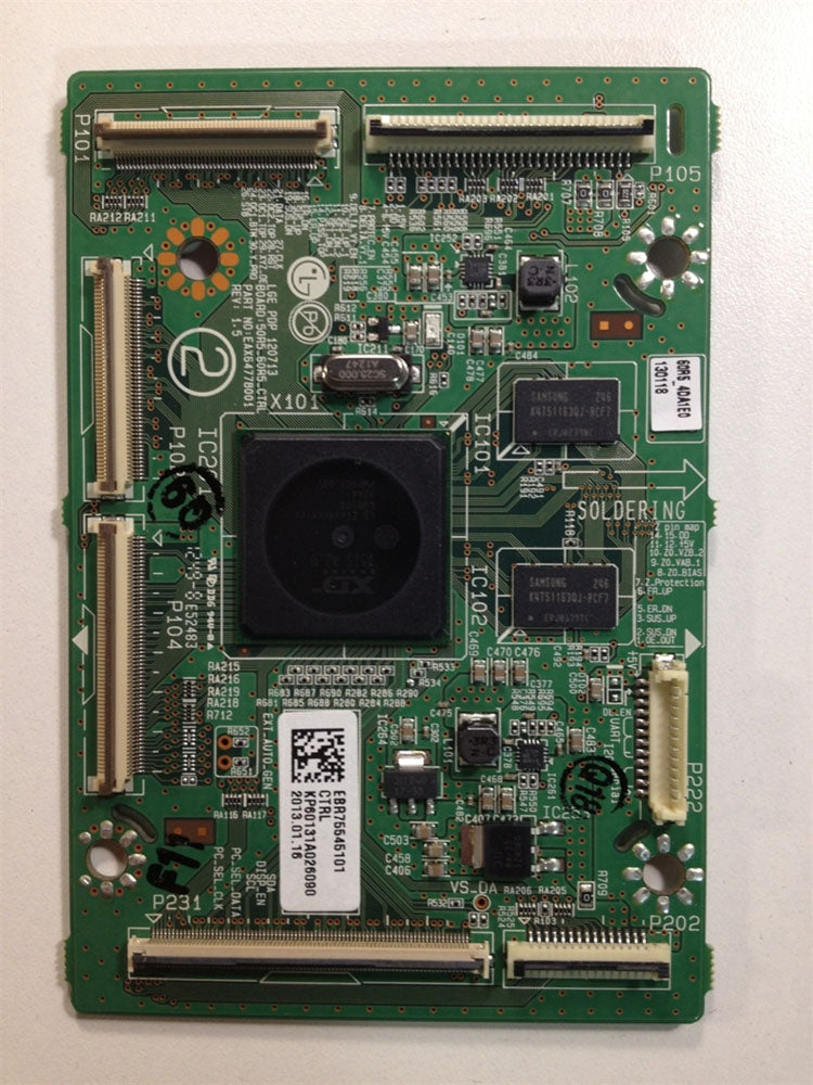 EBR75545101 Logic Board fro an LG TV