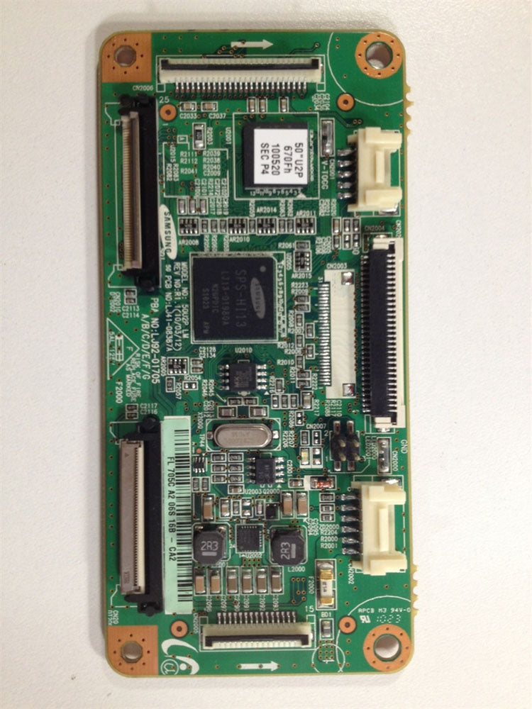 LJ92-01705C Logic Board for a Samsung TV