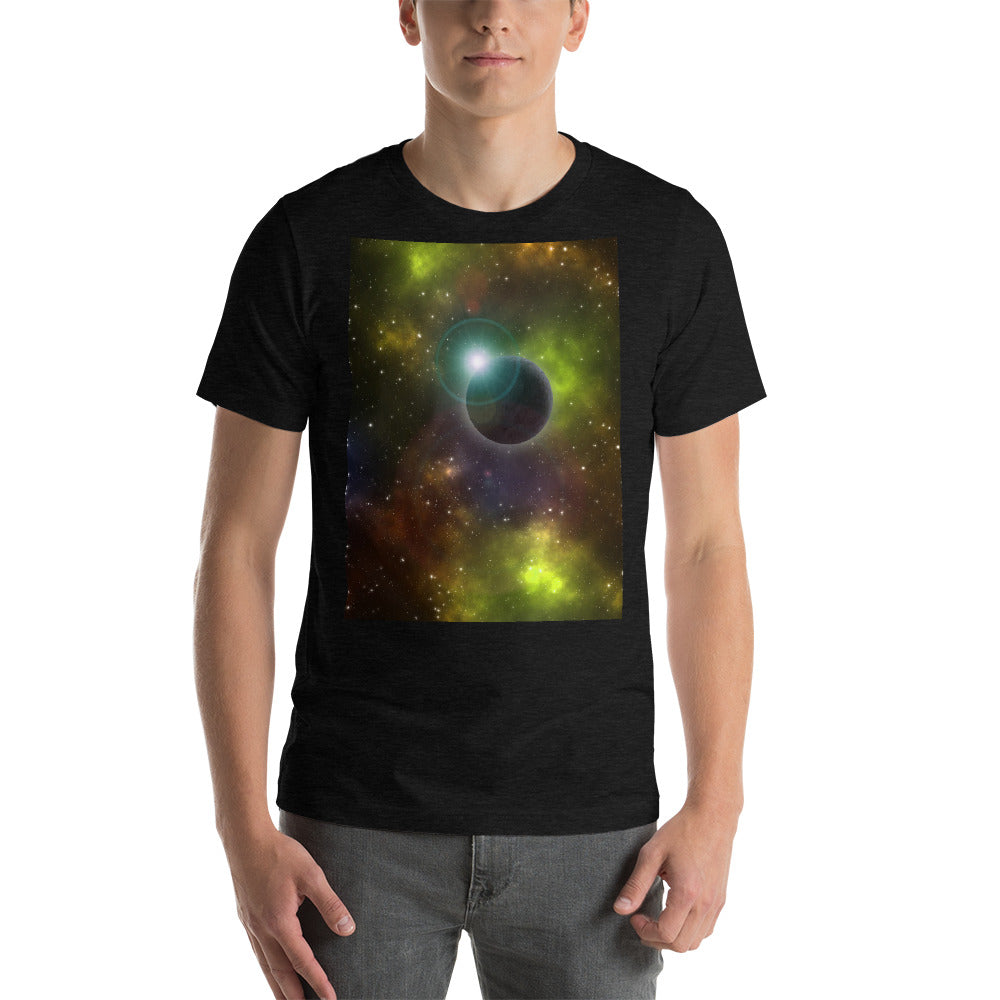 Unique Space Odyssey T-Shirt - Yellow