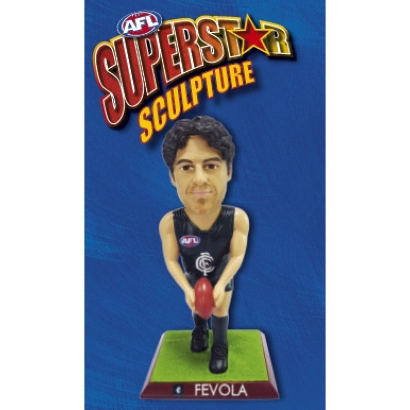 2009 AFL SUPERSTAR SCULPTURE FIGURINE BRENDAN FEVOLA