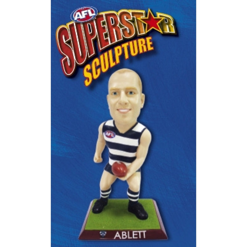 2009 AFL SUPERSTAR SCULPTURE FIGURINE GARY ABLETT