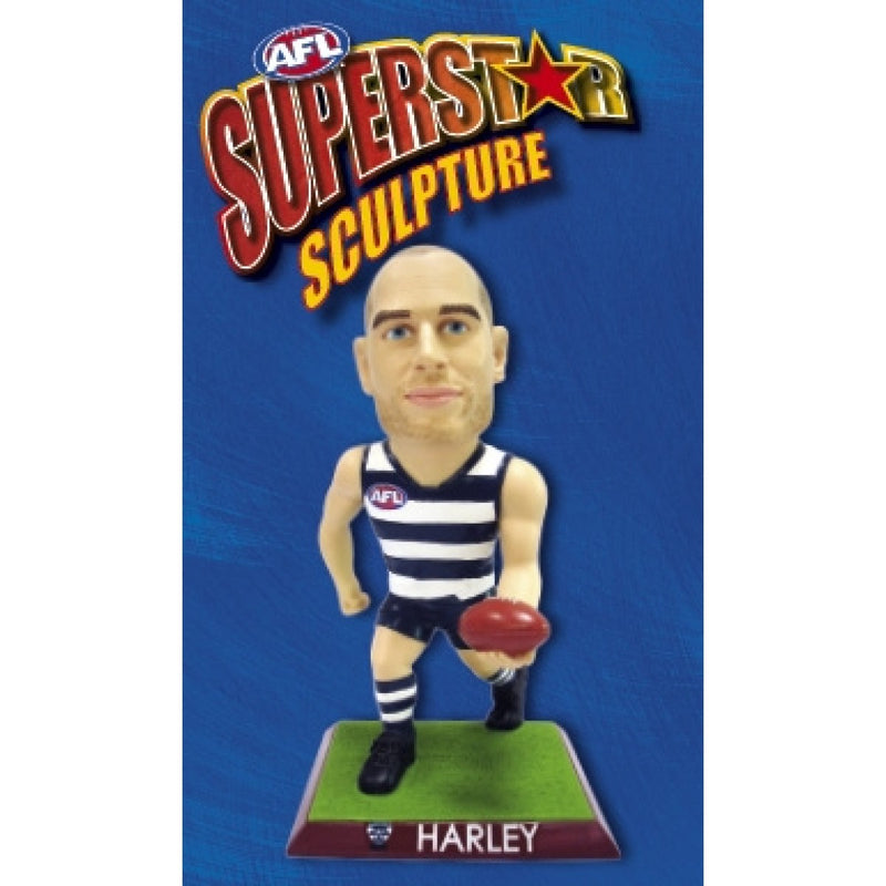 2009 AFL SUPERSTAR SCULPTURE FIGURINE TOM HARLEY