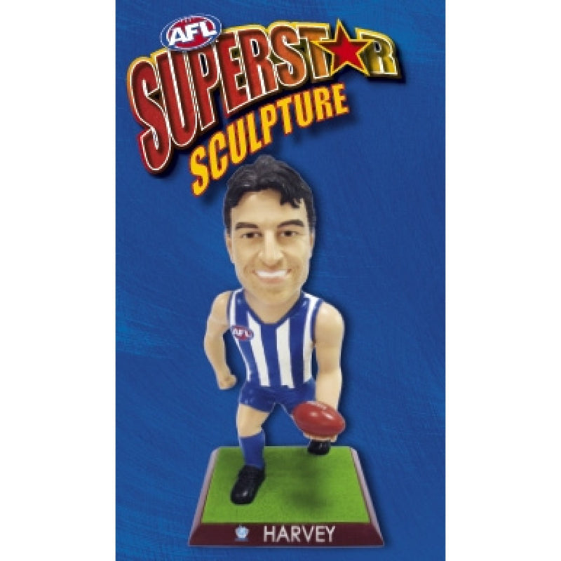 2009 AFL SUPERSTAR SCULPTURE FIGURINE BRENT HARVEY