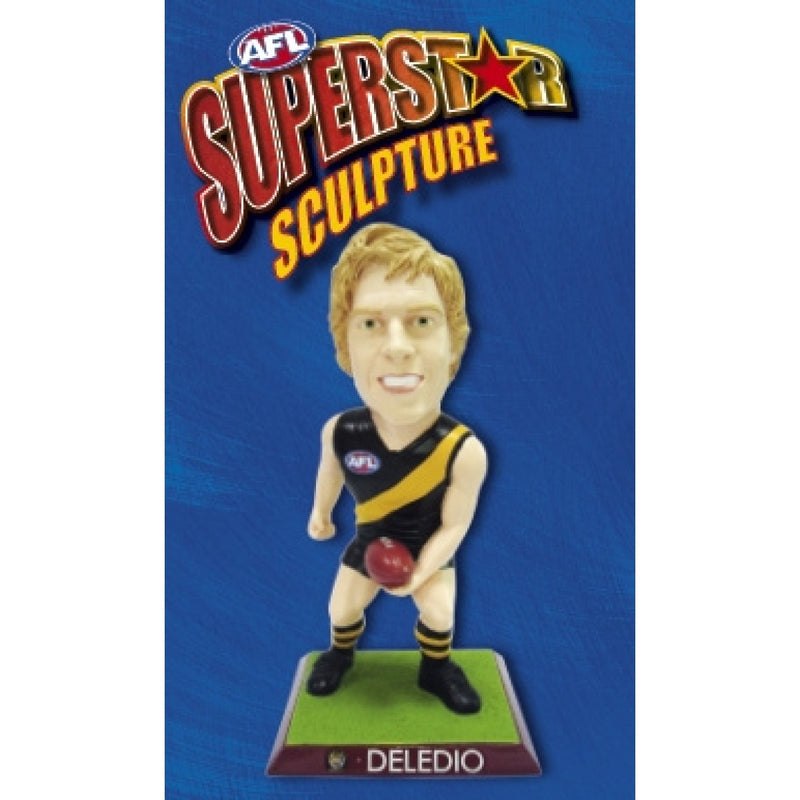 2009 AFL SUPERSTAR SCULPTURE FIGURINE BRETT DELEDIO