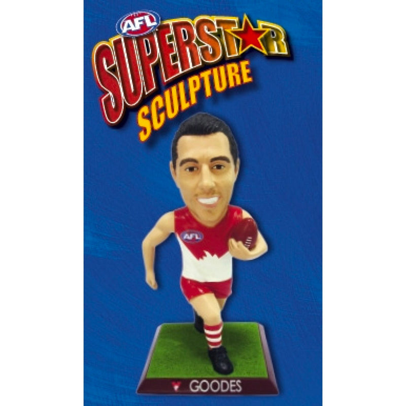 2009 AFL SUPERSTAR SCULPTURE FIGURINE ADAM GOODES