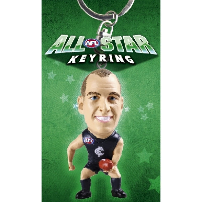 2010 AFL KEYRING FIGURINE CHRIS JUDD