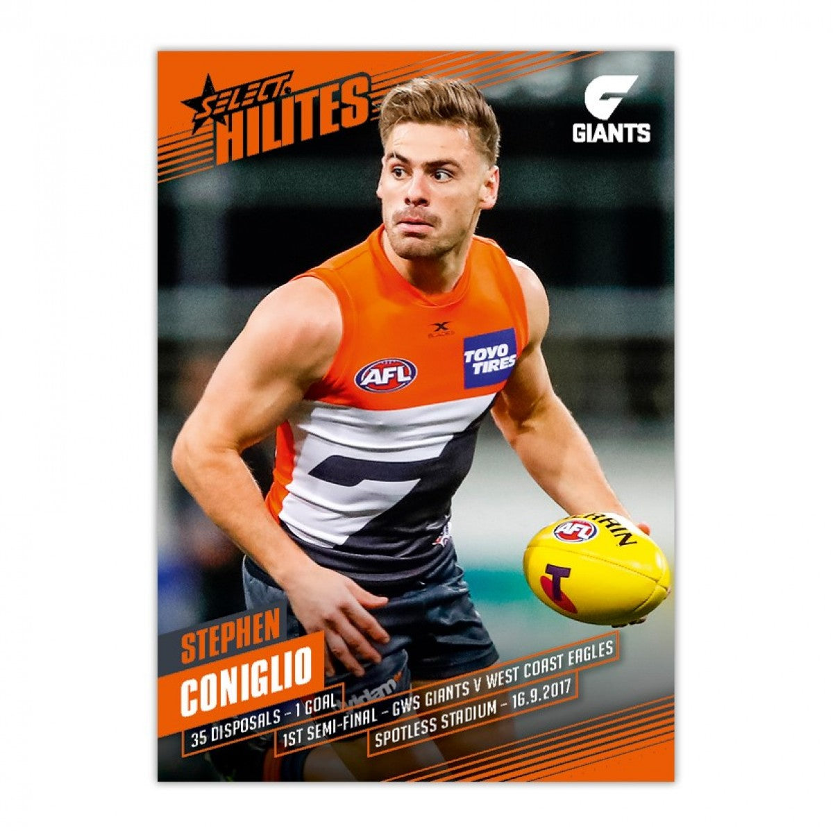 1ST SEMI FINAL - STEPHEN CONIGLIO GWS