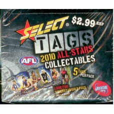2010 Select AFL Stars Tags Sealed Box