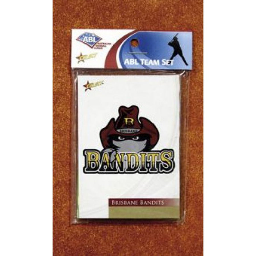 2013 ABL BRISBANE BANDITS TEAM SET PACK