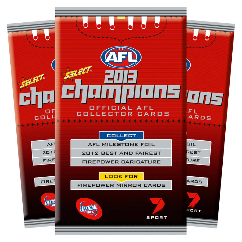2013 AFL CHAMPIONS CARDS BOX