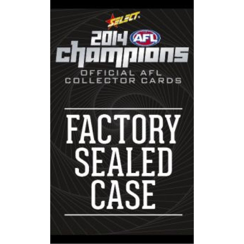 2014 AFL CHAMPIONS FACTORY SEALED CASE