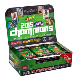 2015 AFL CHAMPIONS CARDS BOX - FREE SHIPPING