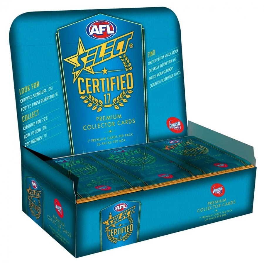 2017 AFL CERTIFIED BOX