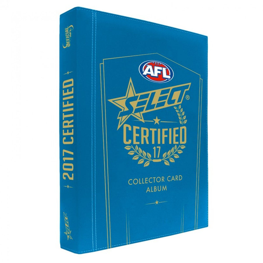 2017 AFL Certified Card Album