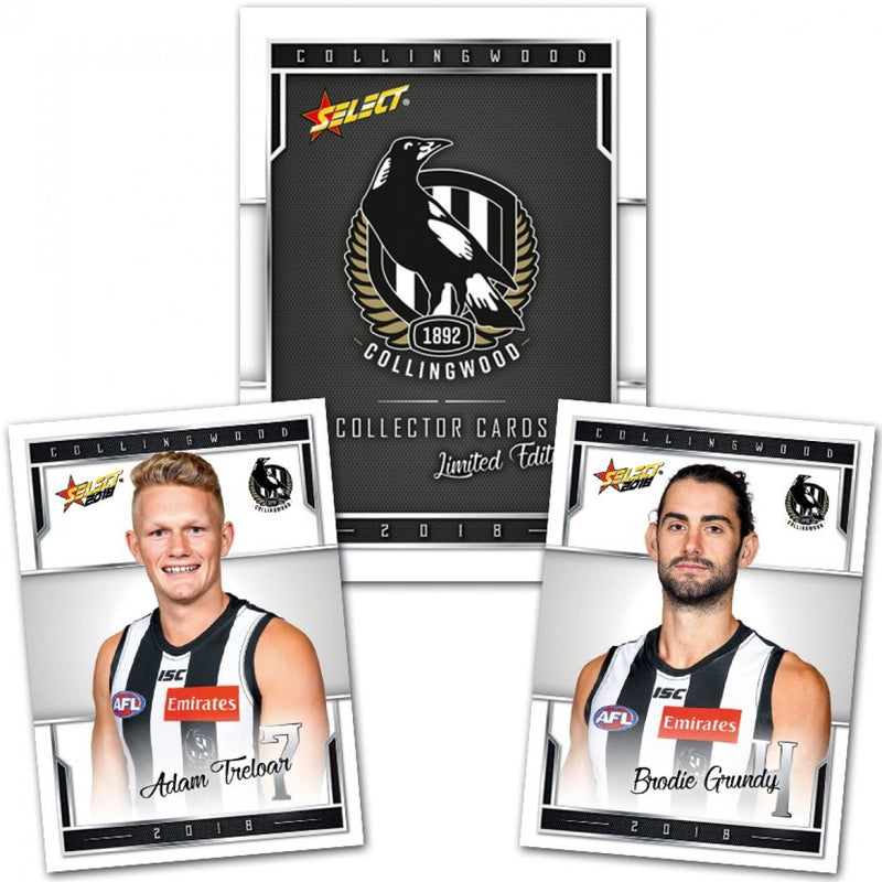 2018 Collingwood Magpies Limited Edition Team Club Set